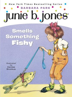 cover image of Junie B. Jones Smells Something Fishy