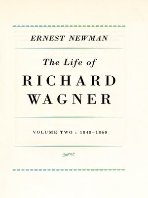 cover image of Life of R. Wagner, Volume 2