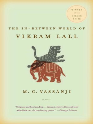 cover image of The In-Between World of Vikram Lall