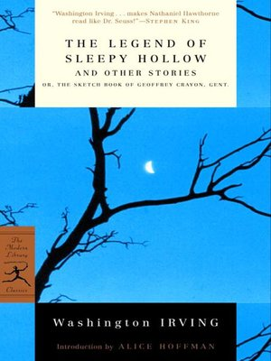 cover image of The Legend of Sleepy Hollow and Other Stories