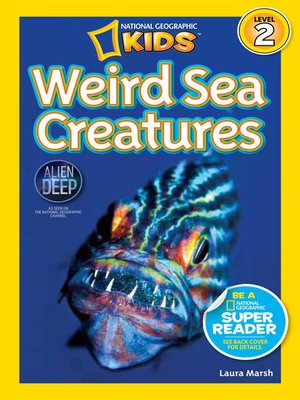 cover image of National Geographic Readers: Weird Sea Creatures