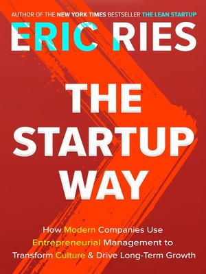 cover image of The Startup Way