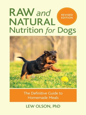 cover image of Raw and Natural Nutrition for Dogs