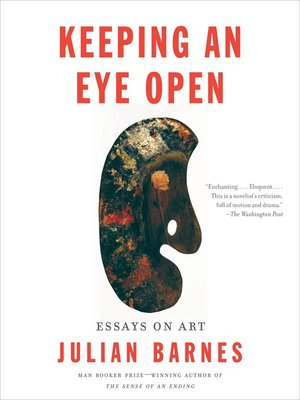 cover image of Keeping an Eye Open