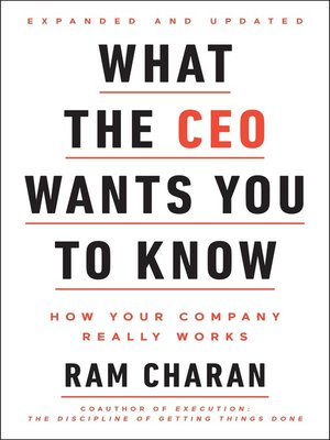 cover image of What the CEO Wants You to Know, Expanded and Updated