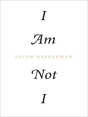 cover image of I Am Not I