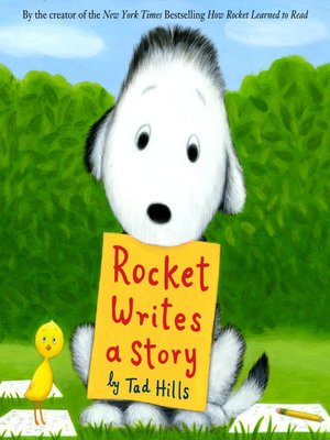 cover image of Rocket Writes a Story