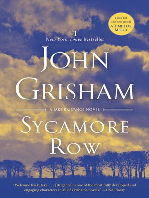 cover image of Sycamore Row