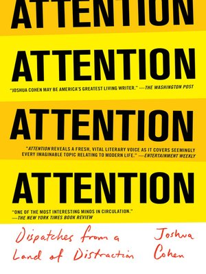 cover image of ATTENTION