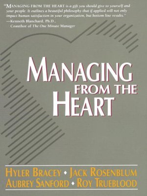 cover image of Managing from the Heart