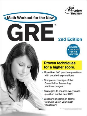 cover image of Math Workout for the New GRE