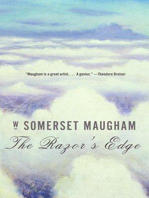 cover image of The Razor's Edge