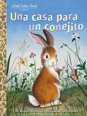 cover image of Una casa para un conejito