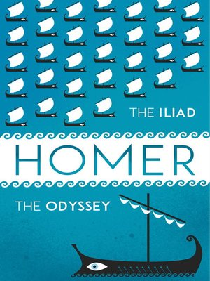 cover image of The Iliad + the Odyssey Collection