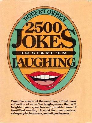 cover image of 2500 Jokes to Start 'Em Laughing