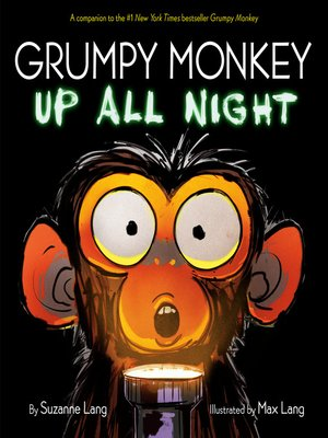 cover image of Grumpy Monkey Up All Night
