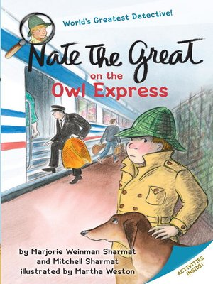 cover image of Nate the Great on the Owl Express