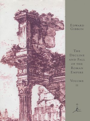 cover image of The Decline and Fall of the Roman Empire, Volume II