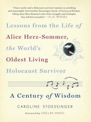 cover image of A Century of Wisdom