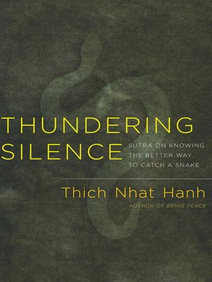 cover image of Thundering Silence