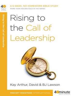 cover image of Rising to the Call of Leadership