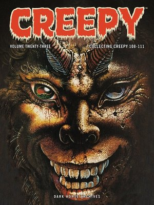 cover image of Creepy Archives, Volume 23