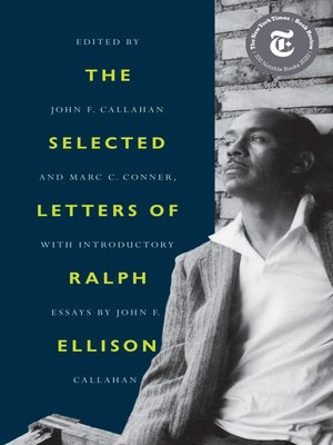 cover image of The Selected Letters of Ralph Ellison