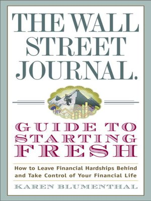 cover image of The Wall Street Journal Guide to Starting Fresh