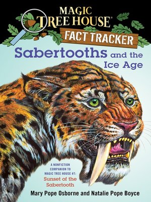 cover image of Sabertooths and the Ice Age