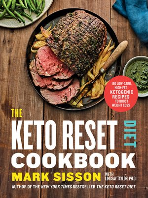 cover image of The Keto Reset Diet Cookbook