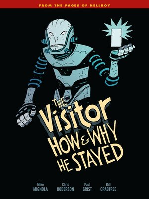 cover image of The Visitor: How and Why He Stayed