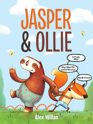 cover image of Jasper & Ollie