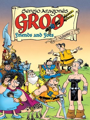 cover image of Groo: Friends and Foes (2015), Volume 2