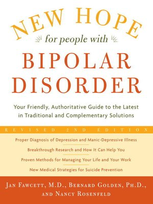 cover image of New Hope For People With Bipolar Disorder Revised