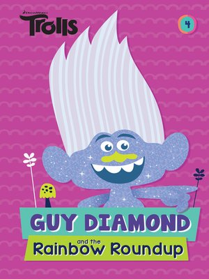 cover image of Guy Diamond and the Rainbow Roundup (DreamWorks Trolls)