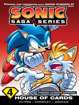cover image of Sonic Saga Series 4: House of Cards