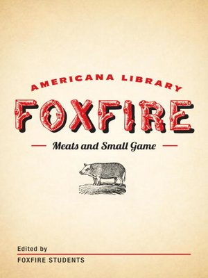 cover image of Meats and Small Game