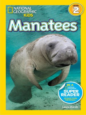cover image of National Geographic Readers: Manatees