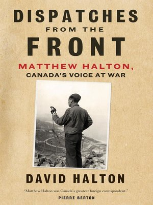 cover image of Dispatches from the Front