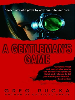 cover image of A Gentleman's Game
