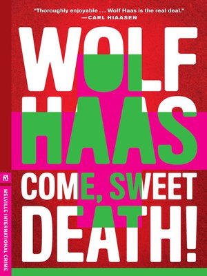 cover image of Come, Sweet Death