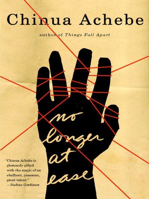 cover image of No Longer at Ease