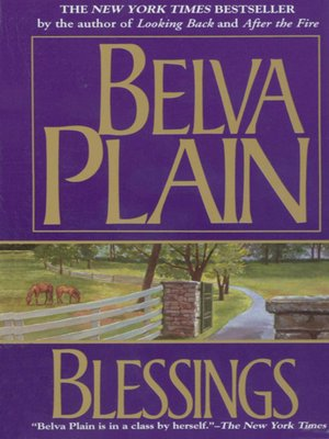 cover image of Blessings