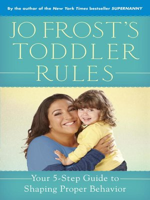 cover image of Jo Frost's Toddler Rules