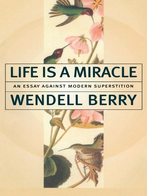 cover image of Life Is a Miracle