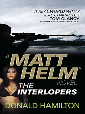 cover image of Matt Helm--The Interlopers
