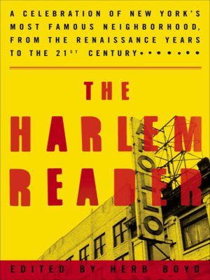 cover image of The Harlem Reader