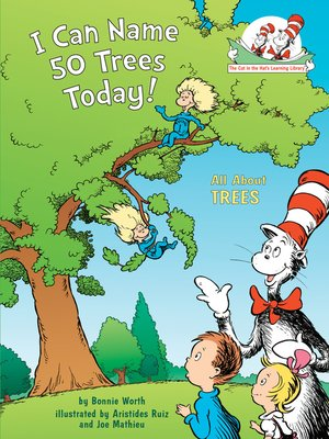 cover image of I Can Name 50 Trees Today!