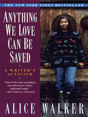 cover image of Anything We Love Can Be Saved