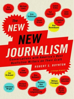 cover image of The New New Journalism